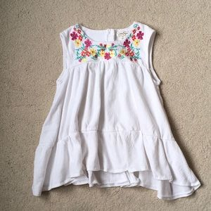 Girls Jessica Simpson Embroidered Tunic Top 5